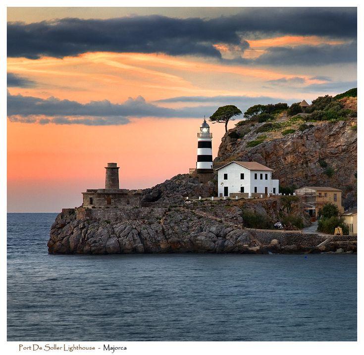 Port de Soller Lighthouse by Signal-Womb