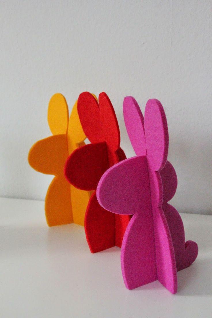 die 25 besten ideen zu hase auf pinterest kaninchen handwerk frohe und diy ostern. Black Bedroom Furniture Sets. Home Design Ideas