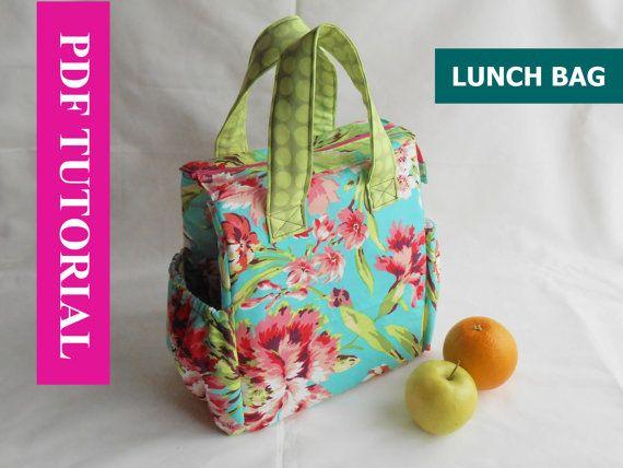best 25 lunch bag patterns ideas on pinterest diy lunch. Black Bedroom Furniture Sets. Home Design Ideas