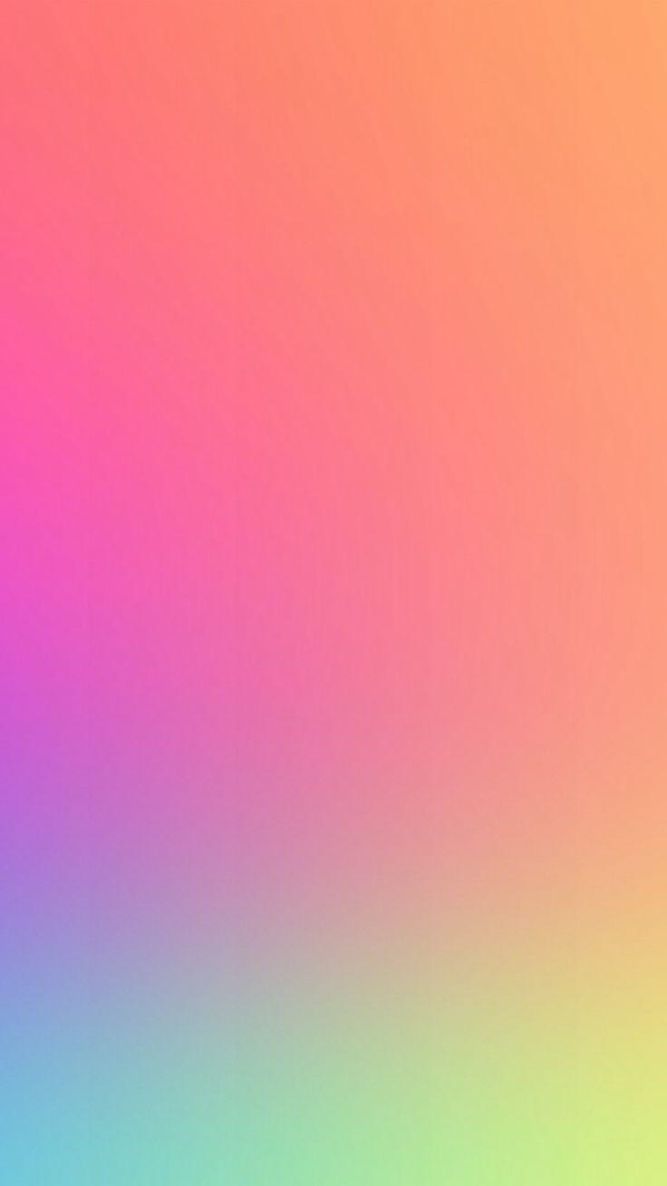 Rainbow iphone wallpaper tumblr - Orange Sunshine Gradation Blur Iphone 6 Wallpaper