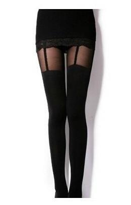 New Tattoo Sock Silk Transparent Leggings