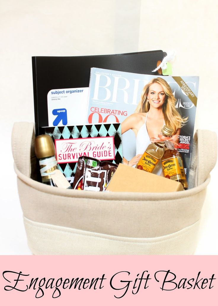Gift Basket Ideas For Engagement Party Best Ideas About Engagement