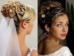 Image result for wedding hairstyles half up front view