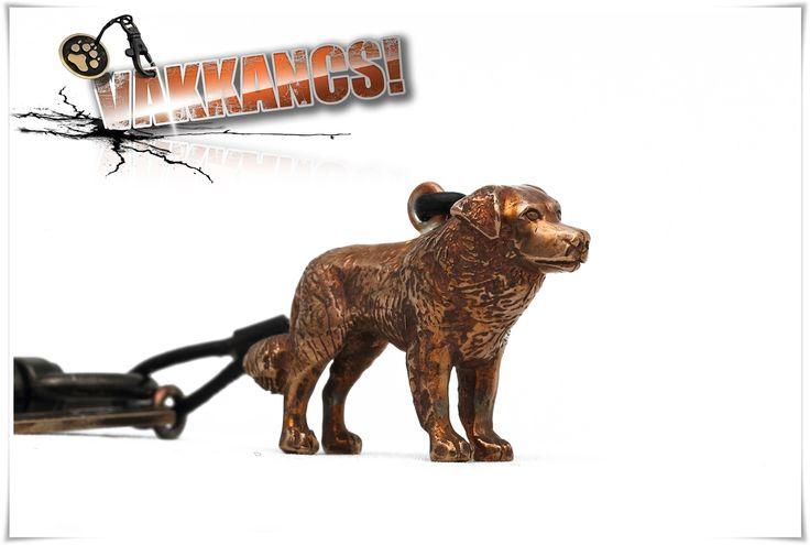 Kuvasz bronze keyring. http://www.vakkancs.eu/vakkancs_dogs/kuvasz