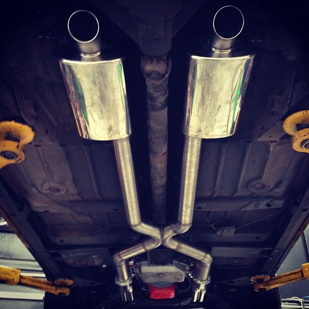 Exhaust finished