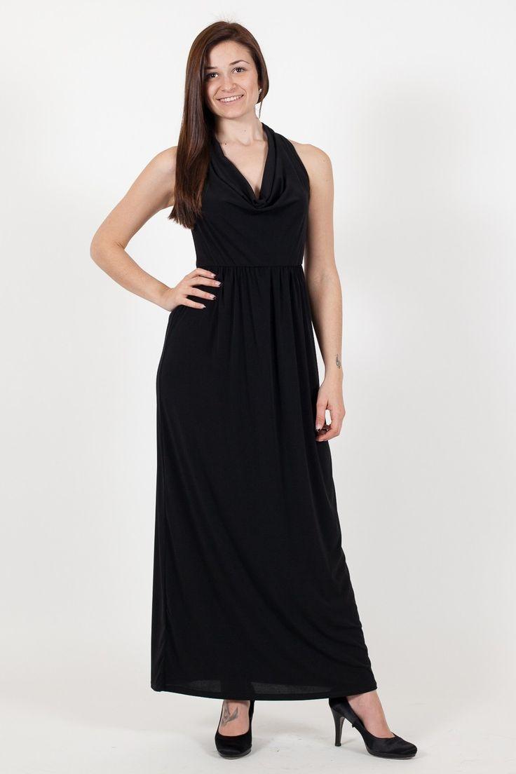 Abito Kaos. Collezione Kaos Donna. Abbigliamento donna. www.vitalina.it #glamour #outfitparty #totalblack #outfitprimavera #outfitestate #lookestate #kaos #donna
