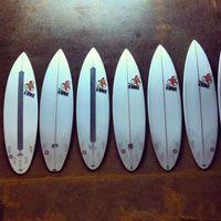 KELLY SLATER'S WINNING QUIVER 2013 VOLCOM FIJI PRO #surfiswhatwedo