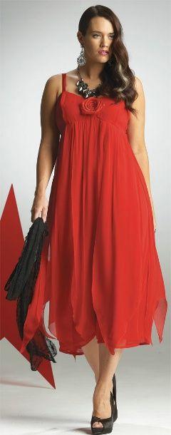 CARNIVALE PETAL DRESS## - Long - My Size, Plus Sized Women's Fashion & Clothing