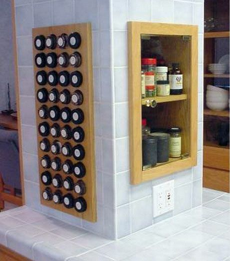 kitchen cabinet renovations a pantry with a great built in spice rack http www 19464