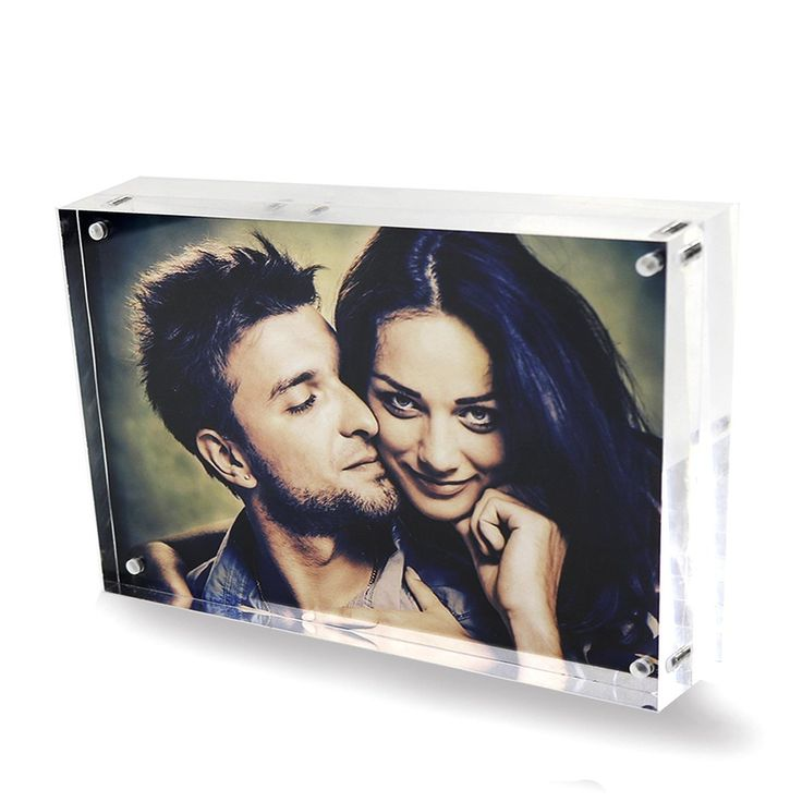 6x8 Clear Acrylic Magnetic Picture Frames Double Sided Love Magnetic Photo Frames Home Office Table Plexiglass Picture Display Stand Holder for Best Friends Children Men Grandpa Wedding 6x8 Inches ** Click image for more details. (This is an affiliate link and I receive a commission for the sales)