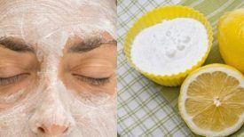 Appliquez ce masque au bicarbonate de soude et au citron sur votre visage… quelque chose d'incroyable va se passer !