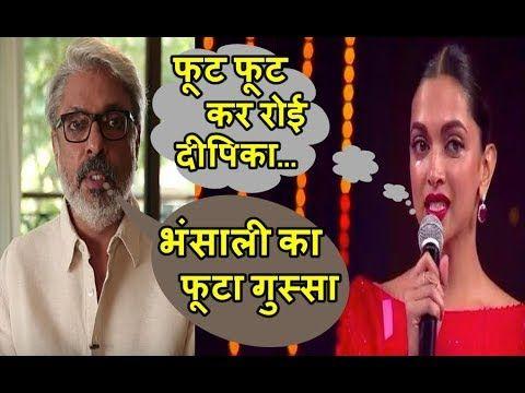 Sanjay Leela Bhansali Makes Deepika Padukone Cry
