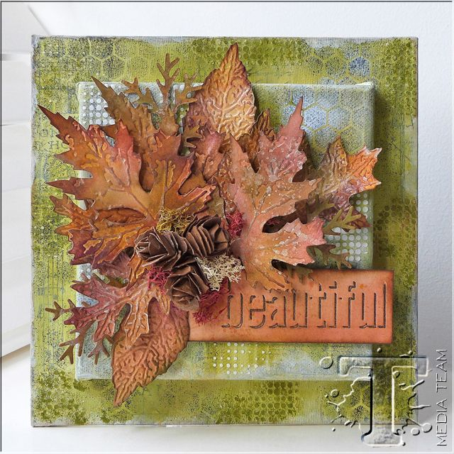 Autumn Leaves Canvas by Emma Williams | www.timholtz.com
