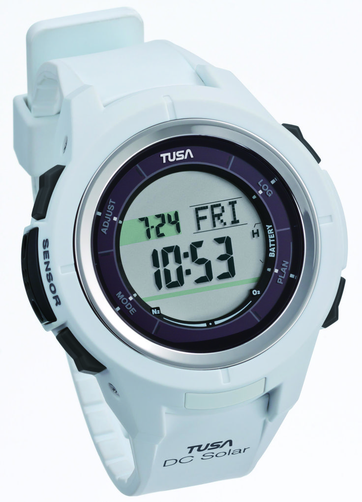 TUSA Japan releases in the Philippines - Solar dive computer on March 2015. World's 1st TUSA M-Value* function. Divers still suffering decompression sickness even when diving within no-decompression limits. The type of dives that were made by Japan's decompression sickness sufferers were at depths of 15m and times at 45 min or more. M-Value warning function alerts the diver or her body nitrogen pressure decompression at 95%, 90% and 80% (user programable).