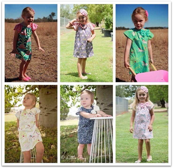 Little Bug Peasant Dresses