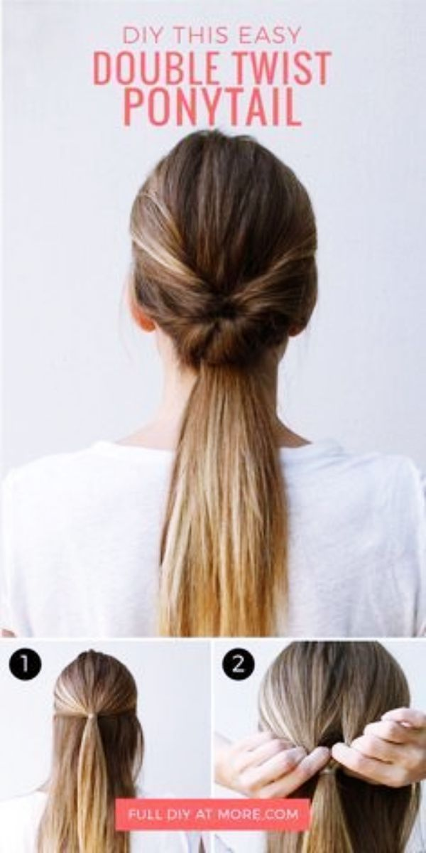 Quick Hairstyles Guides For Office Women Quickhairstyles Hair Styles Twist Ponytail Going Out Hairstyles