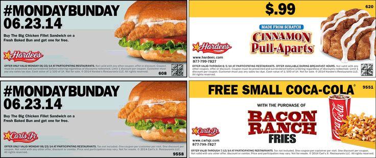 Printable coupons carl jr