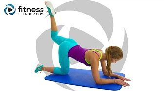 Fat Burning HIIT Pilates Workout - 35 Minute Pilates and HIIT Cardio Blend - YouTube