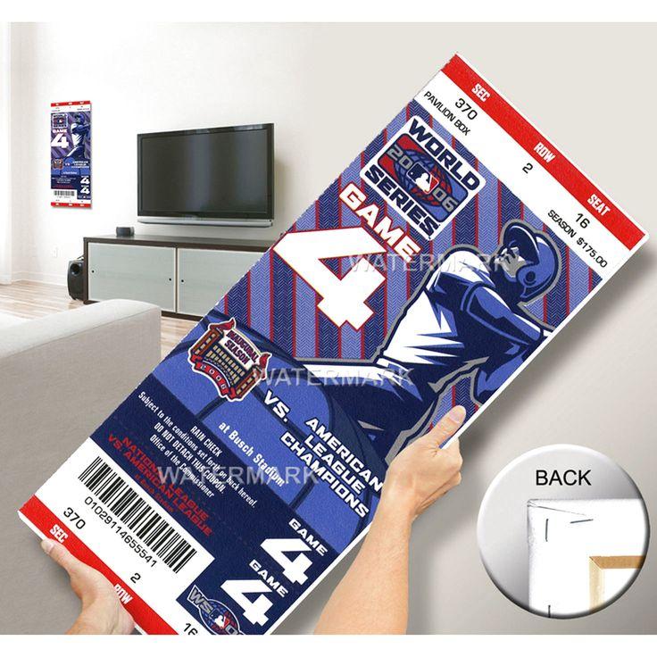 2006 World Series Mega Ticket - St. Louis Cardinals - $63.99