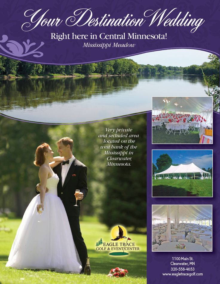 affordable wedding reception venues minnesota%0A Book your wedding reception now at Eagle Trace Golf and Event Center