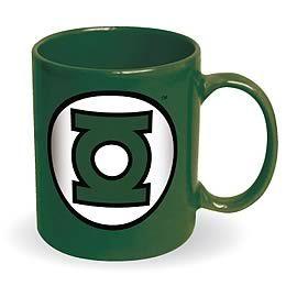 Green LanternLogo Coffee, Lanterns Ceramics, Dc Comics, Ceramics Mugs, Lanterns Logo, Lanterns Zulilyfinds, Green Lanterns, Coffee Mugs, Comics Zulilyfinds