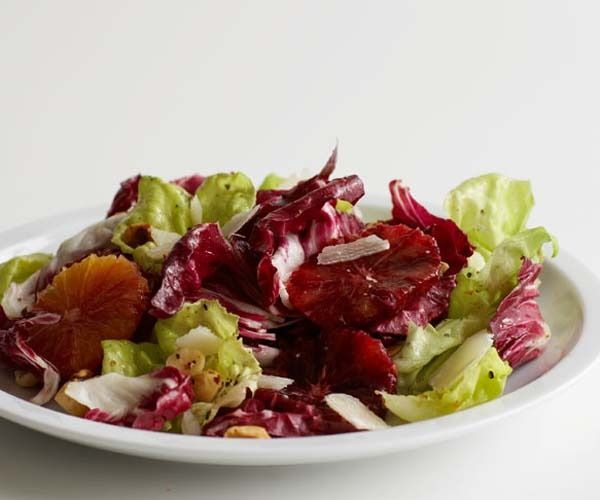 Blood Orange and Radicchio Salad with Hazelnuts and Shaved Parmigiano ...