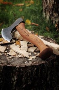 robin wood john neeman carving axe