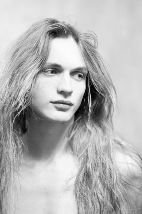 Danila Kovalev | Androgynous Beauty | Pinterest