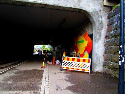Street Art of North: Toimin muraalinvartijana baanalla kesällä