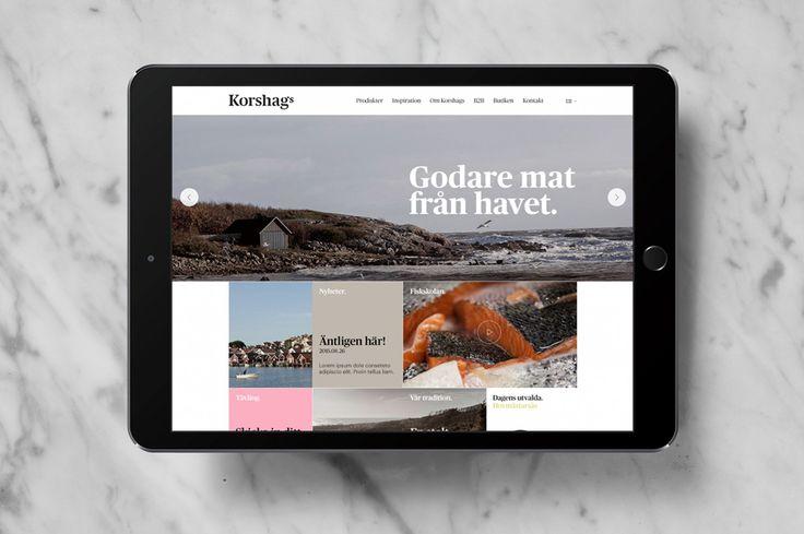 Korshags visual identity designed by Kurppa Hosk