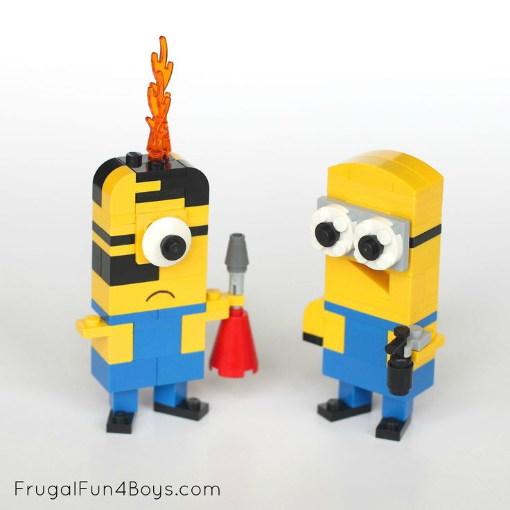 Best 25 Lego Minion Ideas On Pinterest Lego Creations