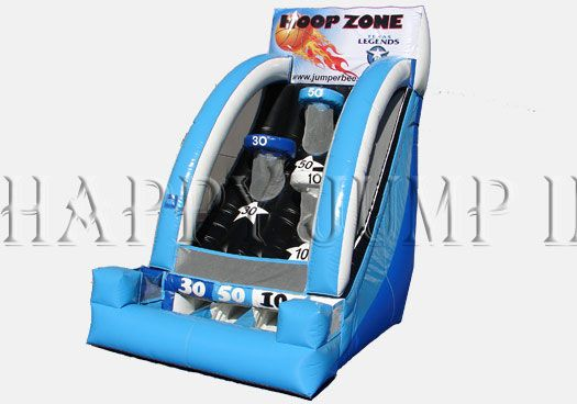 Inflatable Fun Games: Basketball Hoop Zone