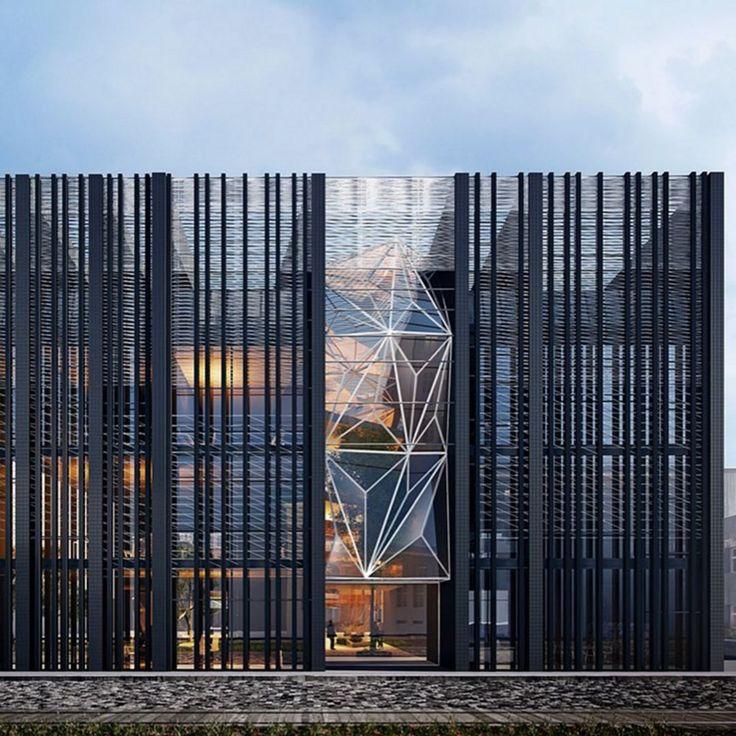 Fosun Foundation | bamboo building