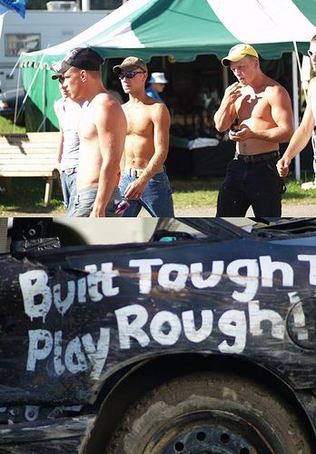built tough. Im rather distracted by the hot guys in the background, anyone else??