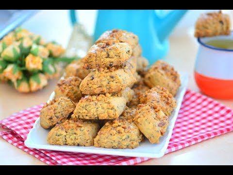 Çaylı Kahveli Cevizli Nefis Ötesi Kurabiye Tarifi ( En sevdiğim kurabiye ) - YouTube