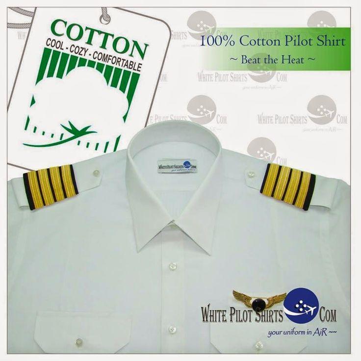 Tailor Made White Pilot Uniform Shirts  www.White-Pilot-Shirts.blogspot.Com