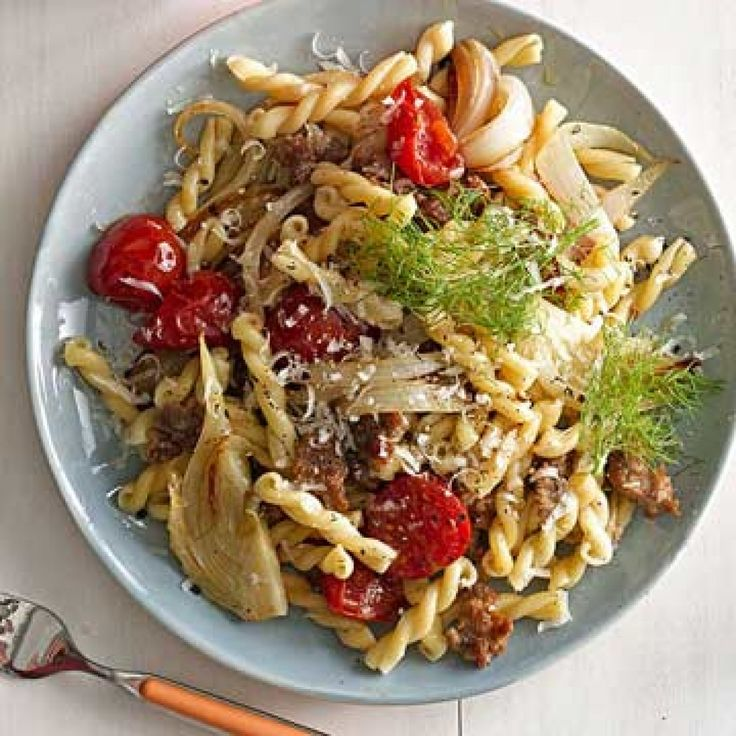 Gemelli with Sausage and Fennel - FamilyCircle.com