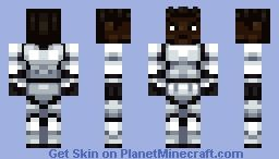 Finn from Star Wars: The Force Awakens - Minecraft skin by ...