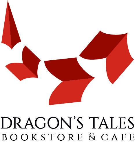 bookstore logo dragons tales logo de la libreria dragon