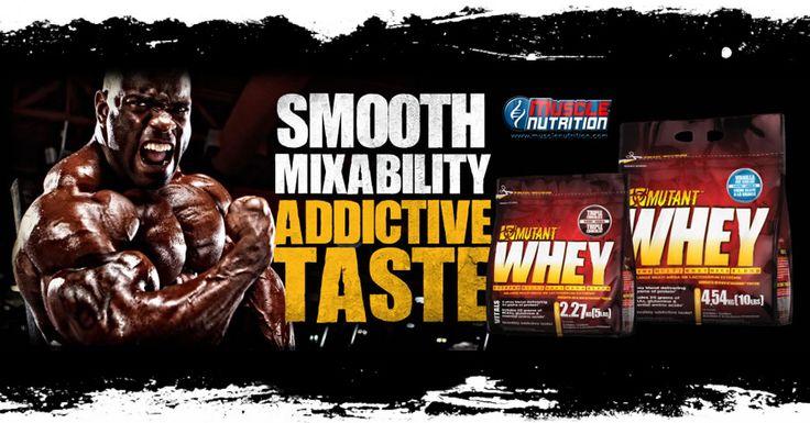 ▶ NUOVO PRODOTTO ◀ Mutant Whey by Mutant - A grande richiesta approda su Muscle Nutrition anche il brand Mutant! Apre il blend proteico a 5 fonti, senza aspartame, ricco di BCAA e Glutamina! PREZZO LANCIO ➟ 2270g. a soli 42,99 € Info Prodotto:http://goo.gl/TPvgeA
