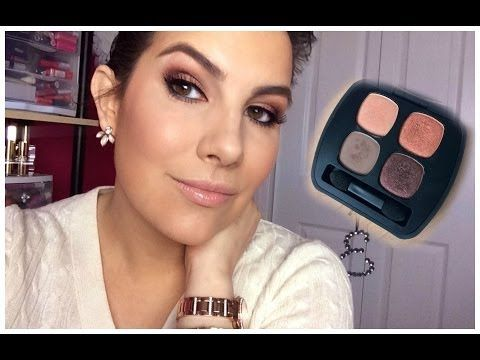 Bare Minerals The Happy Place Tutorial - YouTube. Awesome quad!!!