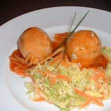Fleischbällchen süß-sauer mit Mandarinen aus Leicht & Lecker von yvi2202 auf www.rezeptwelt.de, der Thermomix ® Community