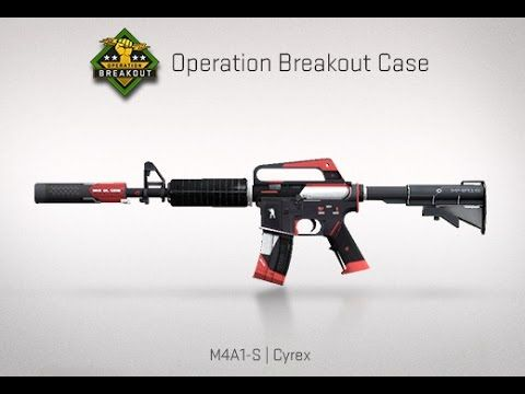 Counter Strike Global Offensive CS:GO  M4A1-S | Cyrex Gameplay