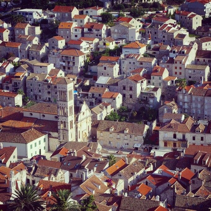 #hvar #croatia #island #balcani #town #landscape