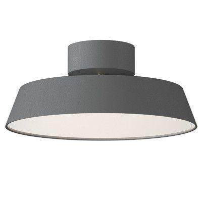 Nordlux Alba 1 Light LED Semi-Flush Ceiling Light & Reviews | Wayfair UK