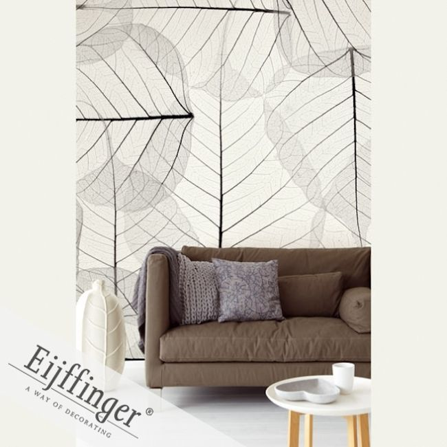 Eijffinger Wallpower Wonders Aspen Leaves.  Wallpapershop / Murrays Interiors