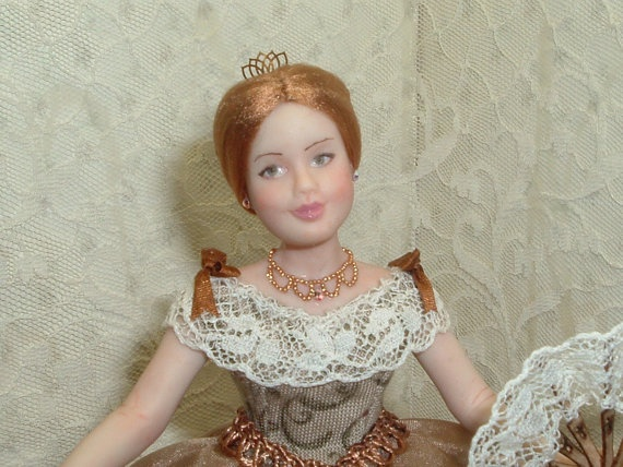 sweet lady ooak doll 1 12 scale by cdhm artisan mariarita baldan of rh pinterest com