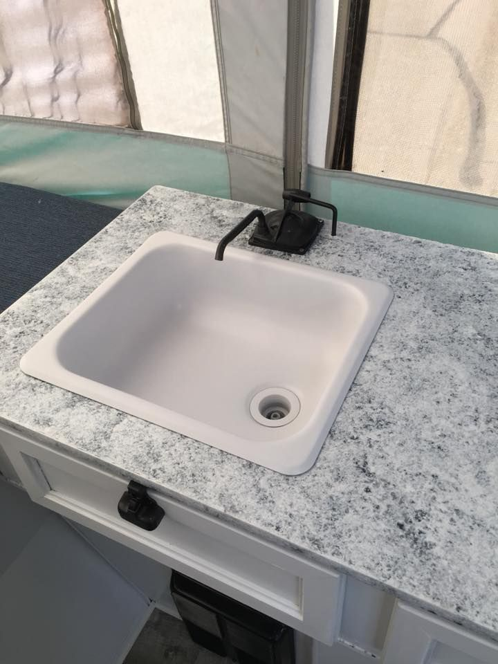 White Epoxy Appliance Spray Paint Can Give Your Stainless Steel Sink A Beautiful Cast Iron Look Then I A Stainless Steel Sinks Spray Paint Cans Stainless Sink