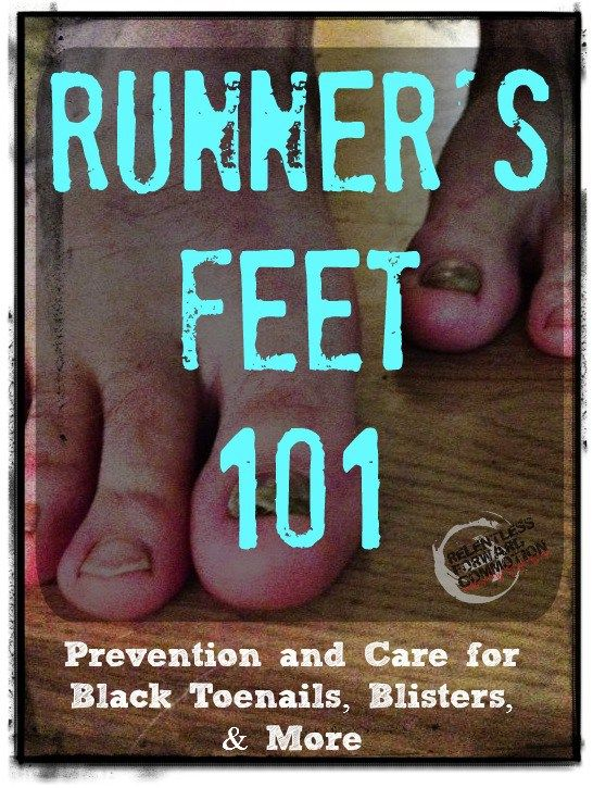 Prevention & care for black toenails, blisters, and other maladies runners may find their feet suffering from.