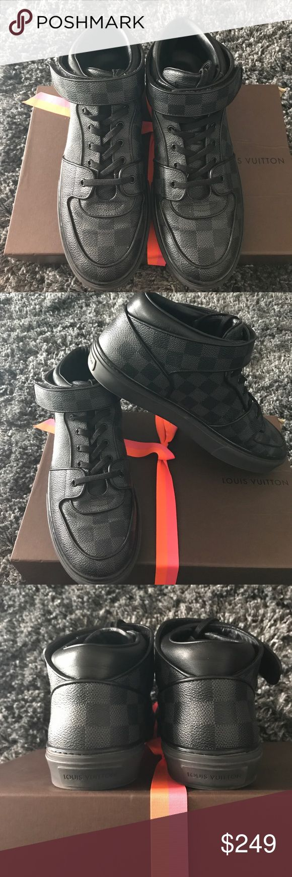 Louis Vuitton men shoes Louis Vuitton men's 10 shoe, great condition, gentle warn and handled with care. Louis Vuitton Shoes Sneakers